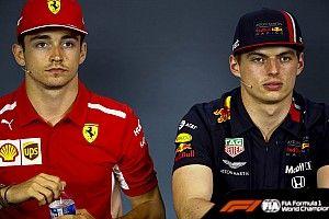 "Leclerc detona Verstappen por duvidar de motor da Ferrari: ""Piada"""
