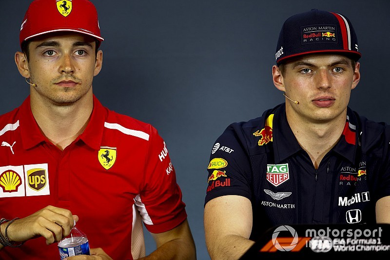 Verstappen e Leclerc jogam a toalha na caça à Mercedes em 2019