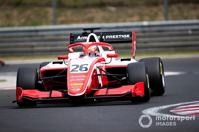 Test F3, Hungaroring, Giorno 1: Armstrong porta in vetta la Prema davanti a Pulcini