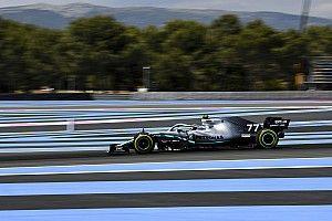 EL3 - Bottas devance toujours Hamilton, Red Bull repoussé loin