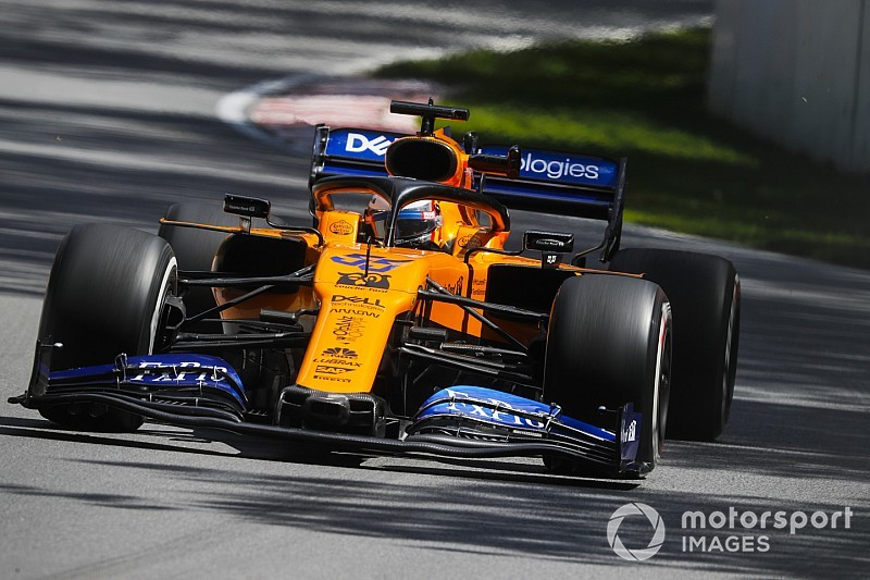 Sainz diz que atualizações da McLaren estão funcionando bem no Canadá