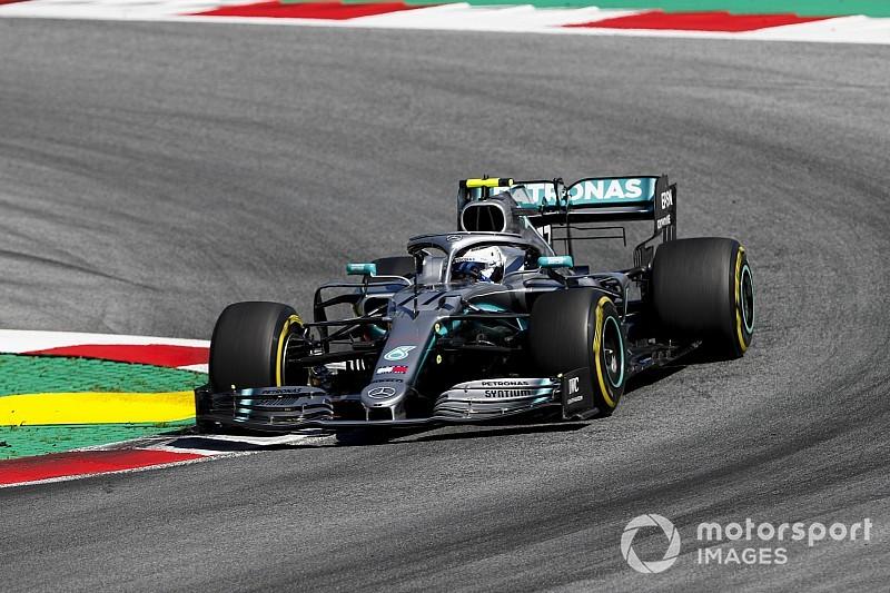 Боттас: Mercedes теряла из-за жары больше, чем рассчитывала