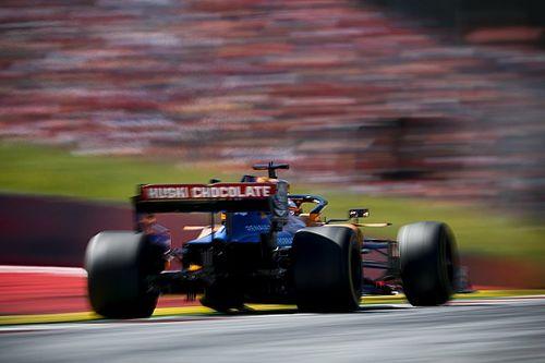 Videón Sainz nagy felzárkózása a McLarennel