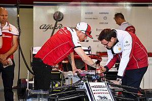 Räikkönen a munka hőse lett az Alfa Romeónál