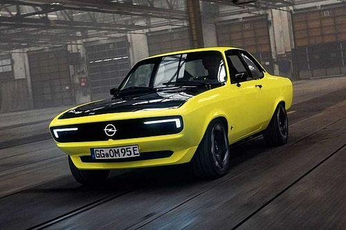 L'Opel Manta GSe ElektroMOD se révèle !