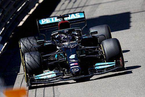 Start Urutan Tujuh, Hamilton Siap Meluapkan Kekesalan pada Mercedes