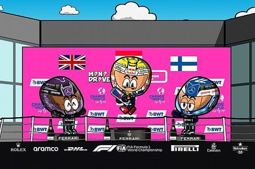 Vídeo: el divertido GP de Estiria 2021 de F1, por MiniDrivers