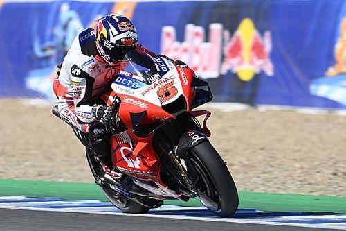 Hasil Warm Up MotoGP Spanyol: Zarco Paling Kencang, Marquez Crash Lagi