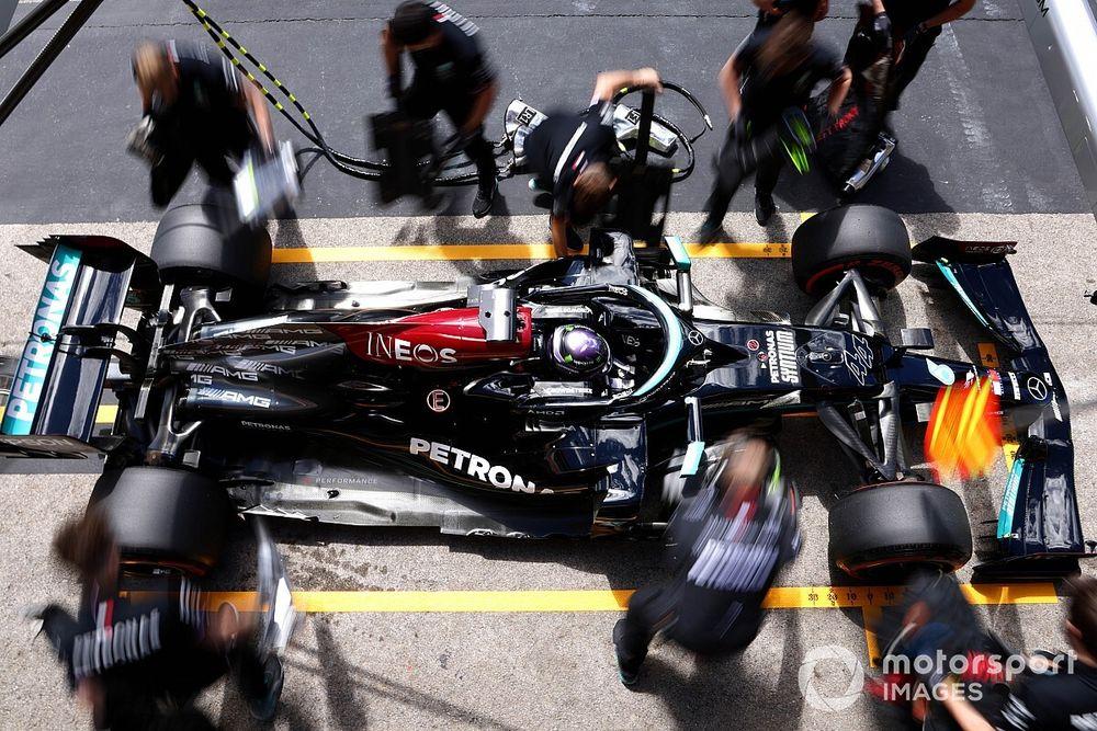 Plus-Minus Strategi Ban di F1 GP Portugal