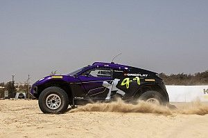 Hamilton's X44 team quickest in opening Extreme E Senegal qualifying times