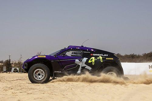 Hamilton's X44 team tops opening Senegal XE qualifying