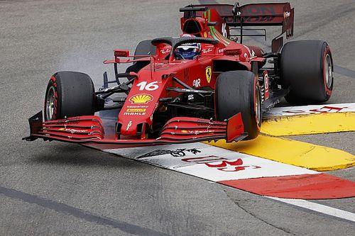 Monaco GP: Leclerc grabs pole, then crashes