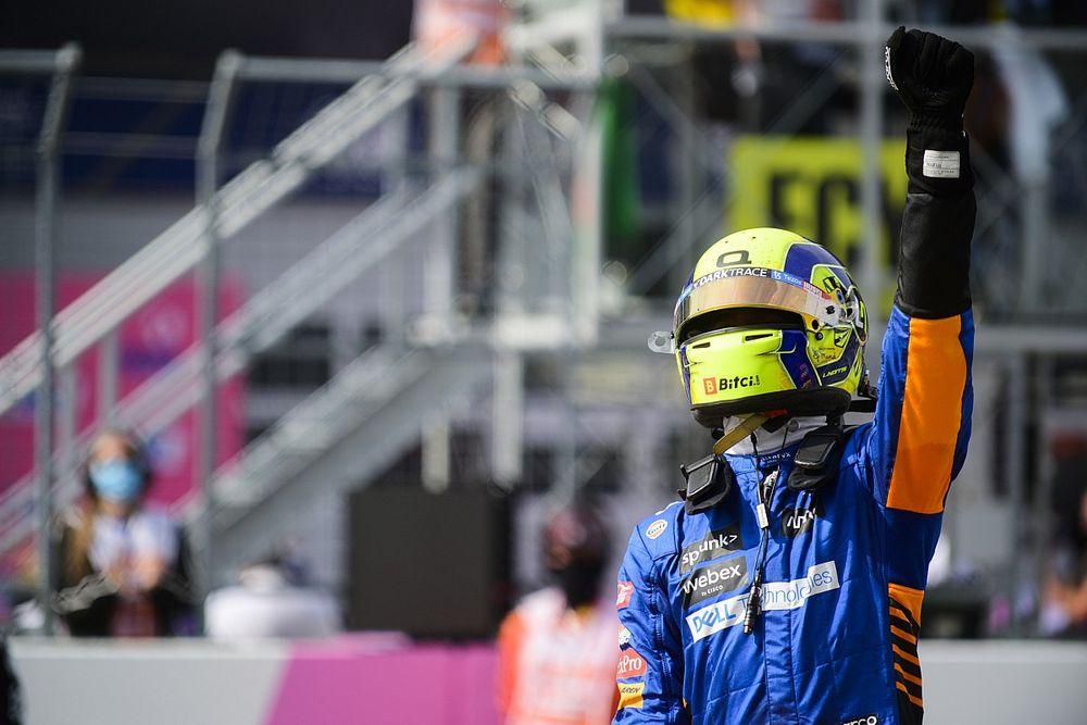 """Alonso újabb kiszemeltje Norris volt: """"Egy sztár vagy"""""""