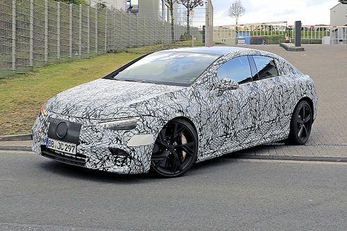 La Mercedes-AMG EQE vue pour la première fois