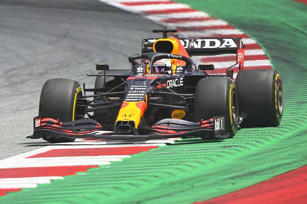 F1シュタイアーマルクFP2:フェルスタッペンが連続首位で初日締めくくる。角田裕毅は15番手