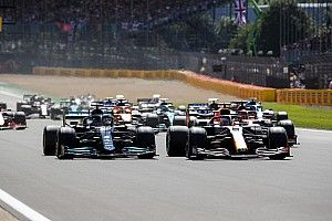 F1 British GP red-flagged after Hamilton and Verstappen clash