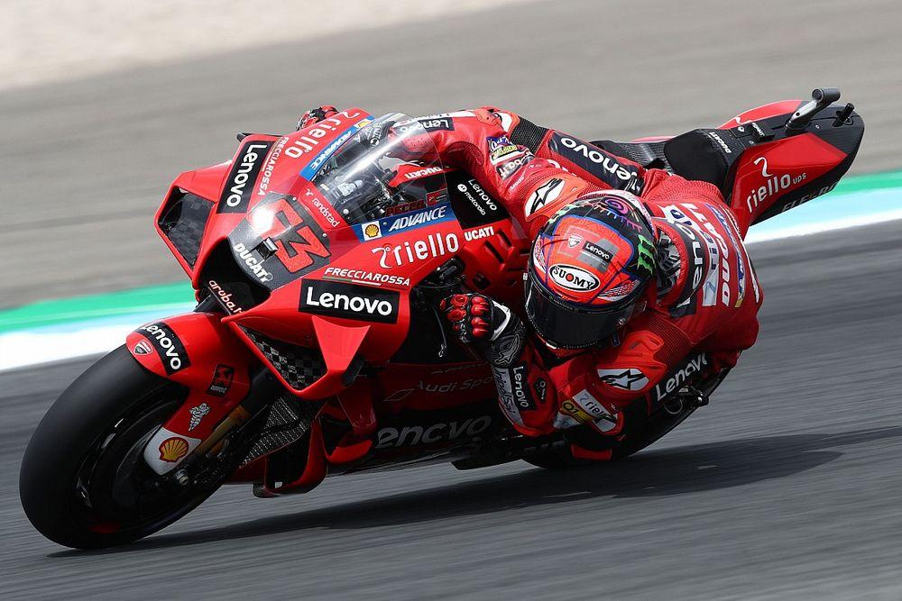 Francesco Bagnaia Bertekad Jaga Tren Ducati di Red Bull Ring