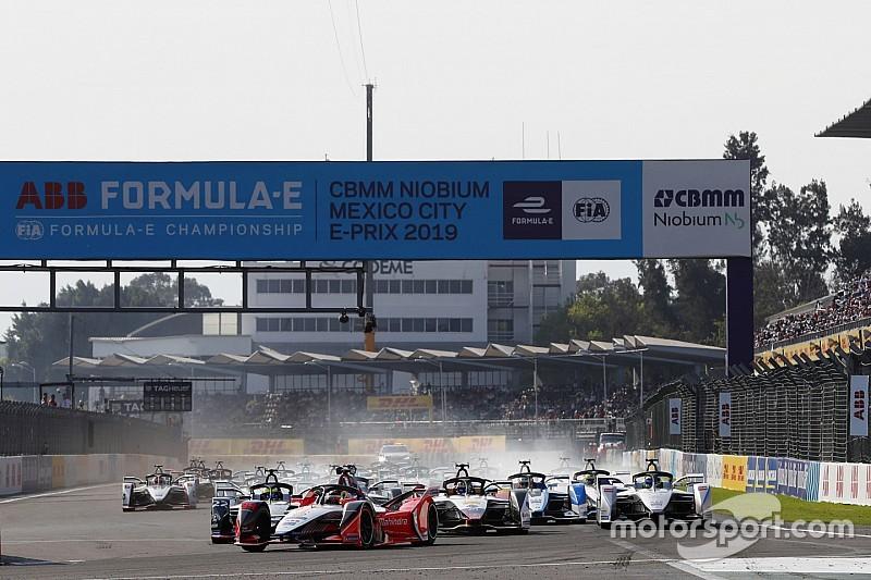 Fuerte accidente entre Piquet y Vergne detiene el ePrix de México