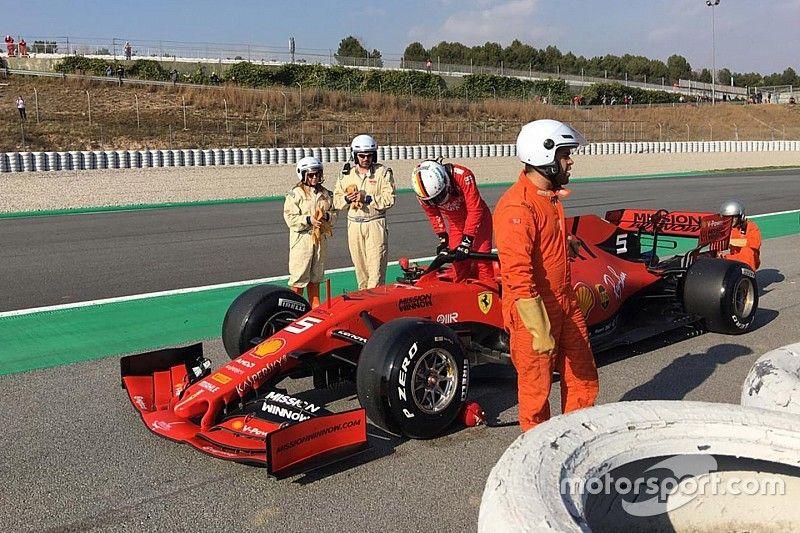 Ferrari: Vettel sfiora il record con la SF90, ma la Rossa è da lavori in corso