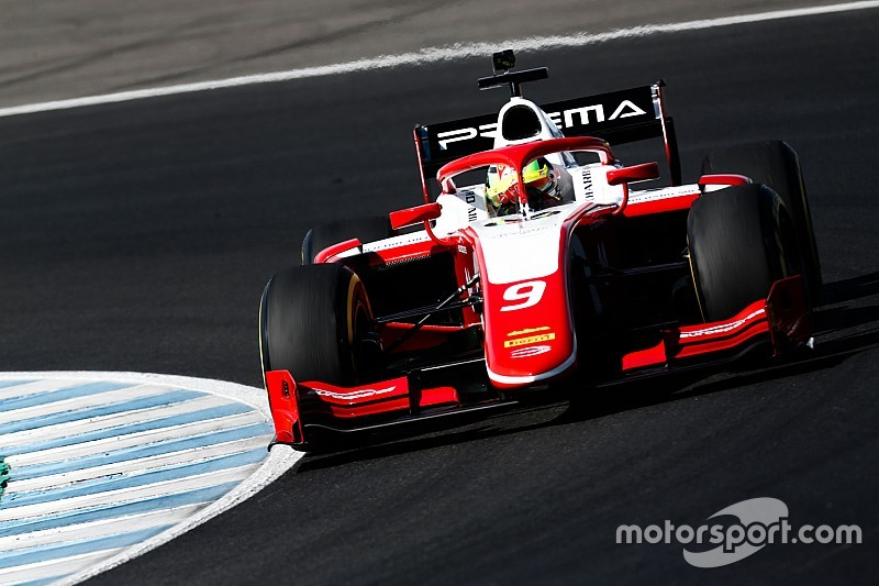 Fotogallery: Mick Schumacher e i protagonisti della Formula 2 in pista a Jerez