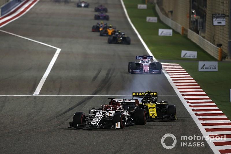Обломок болида прилетел Хюлькенбергу в голову на первом круге Гран При Бахрейна