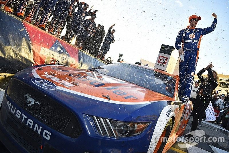 """Keselowski: """"Tremendous honor"""" to get Mustang its first Cup win"""