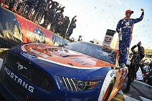 "Keselowski: ""Tremendous honor"" to get Mustang its first Cup win"