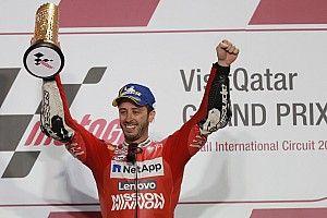 Dovizioso vuelve a imponerse a Márquez en Qatar en otro final de infarto