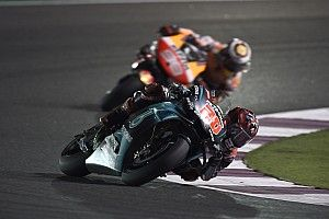 "Quartararo puts Qatar start error down to ""stress"""