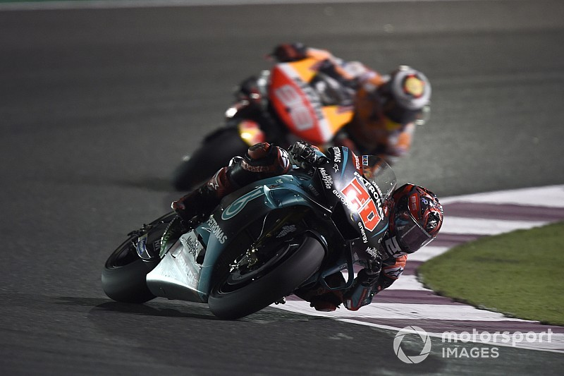 "Quartararo puts Qatar start error down to ""stress"""