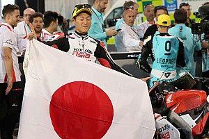 Moto3カタール決勝レポート:鳥羽海渡がキャリア初優勝&Moto3クラス日本人初優勝の快挙!