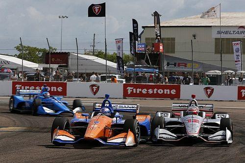 "Dixon, Power enjoy ""pure"" racing at St. Petersburg"