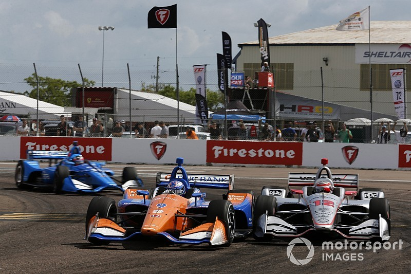 "Dixon, Power enjoy ""pure"" racing at St. Petersburg"