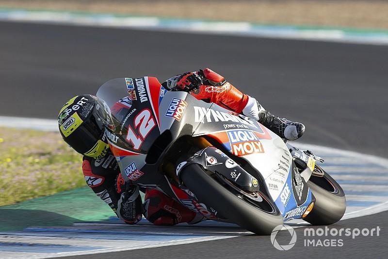 Moto2 Termas de Rio Hondo: Lüthi de snelste, Bendsneyder twaalfde