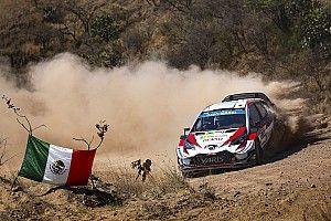 Messico, PS12: Latvala e Ogier alla pari. La Yaris di Meeke è danneggiata