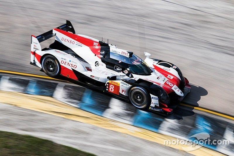Toyota establece récord de vuelta no oficial en las pruebas de Sebring