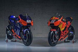 KTM imita el modelo Red Bull F1 en el lanzamiento de su armada de MotoGP