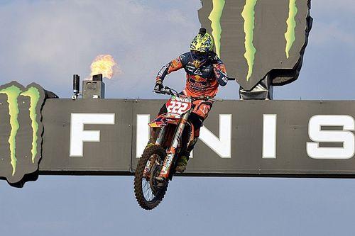 Tony Cairoli vince la qualifica della MXGP sulla sabbia olandese