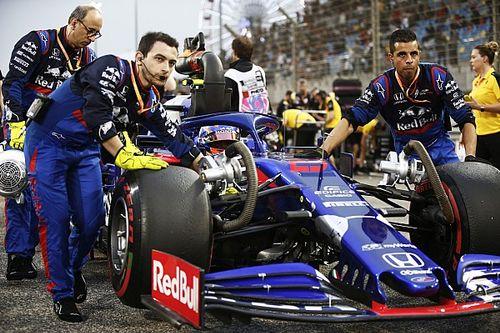 """""""Bola de fogo"""" de Stroll atrapalhou Albon no início do GP do Bahrein"""