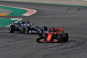 """Hamilton: Mercedes no debe ir """"por encima del límite"""" para alcanzar a Ferrari"""