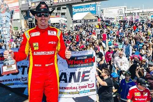 Ander Vilarino makes triumphant return to NASCAR Euro Series