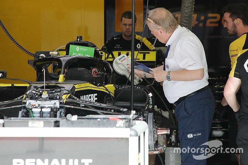 Ricciardo z nowym podwoziem