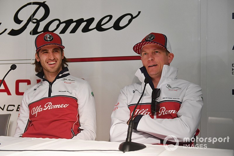 F1レギュラーとして迎える初めてのテストは「クリスマスのようだった」とジョビナッツィ