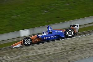 Dixon leads Herta in IndyCar's Laguna Seca morning test