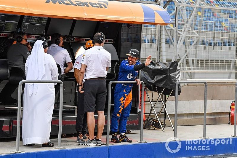 Norris, Alonso'nun McLaren'la test yapmasından memnun