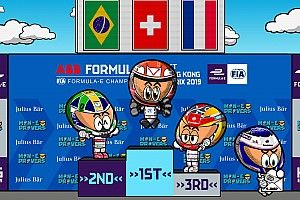 Vídeo: el polémico ePrix de Hong Kong de Fórmula E, por los Minis