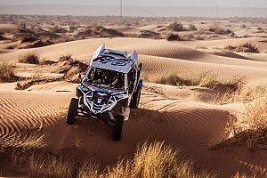 La coppia Borsoi-Pelloni affronta le dune di sabbia del Merzouga Rally