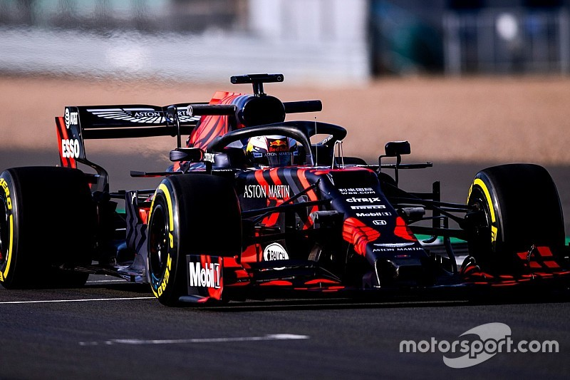 Video: Verstappen'in Red Bull-Honda RB15 ile ilk turları