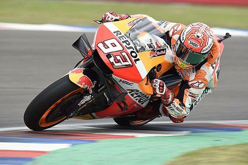 Marquez z pole position