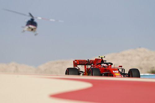 Искры в ночи и первый поул. Субботняя фотогалерея Гран При Бахрейна